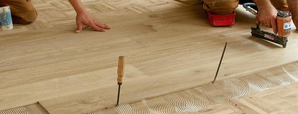 houten vloeren leggen