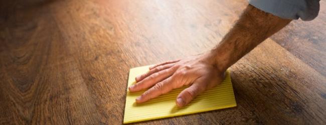 reinigen van laminaatvloer