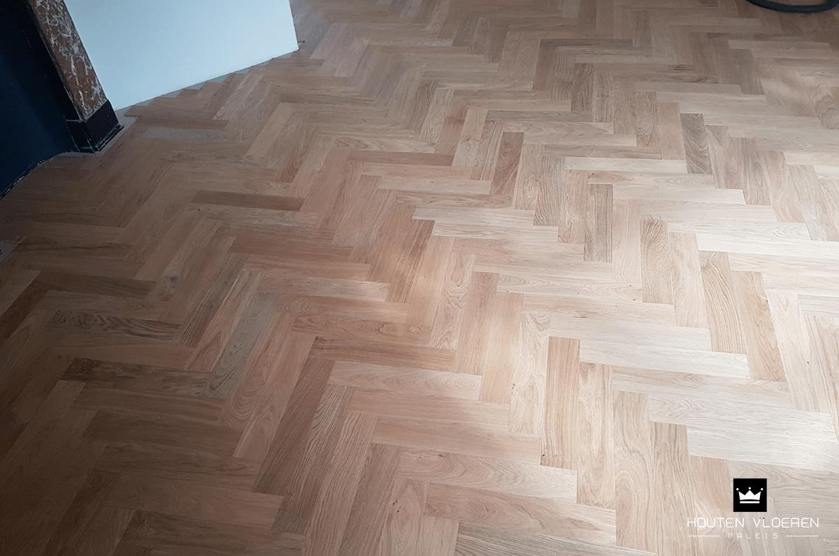 Augustus visgraatvloer leggen houten vloeren paleis