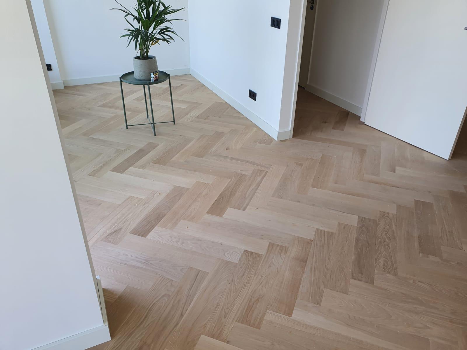visgraat vloer houten vloer